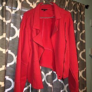 Torrid Coral Moto jacket